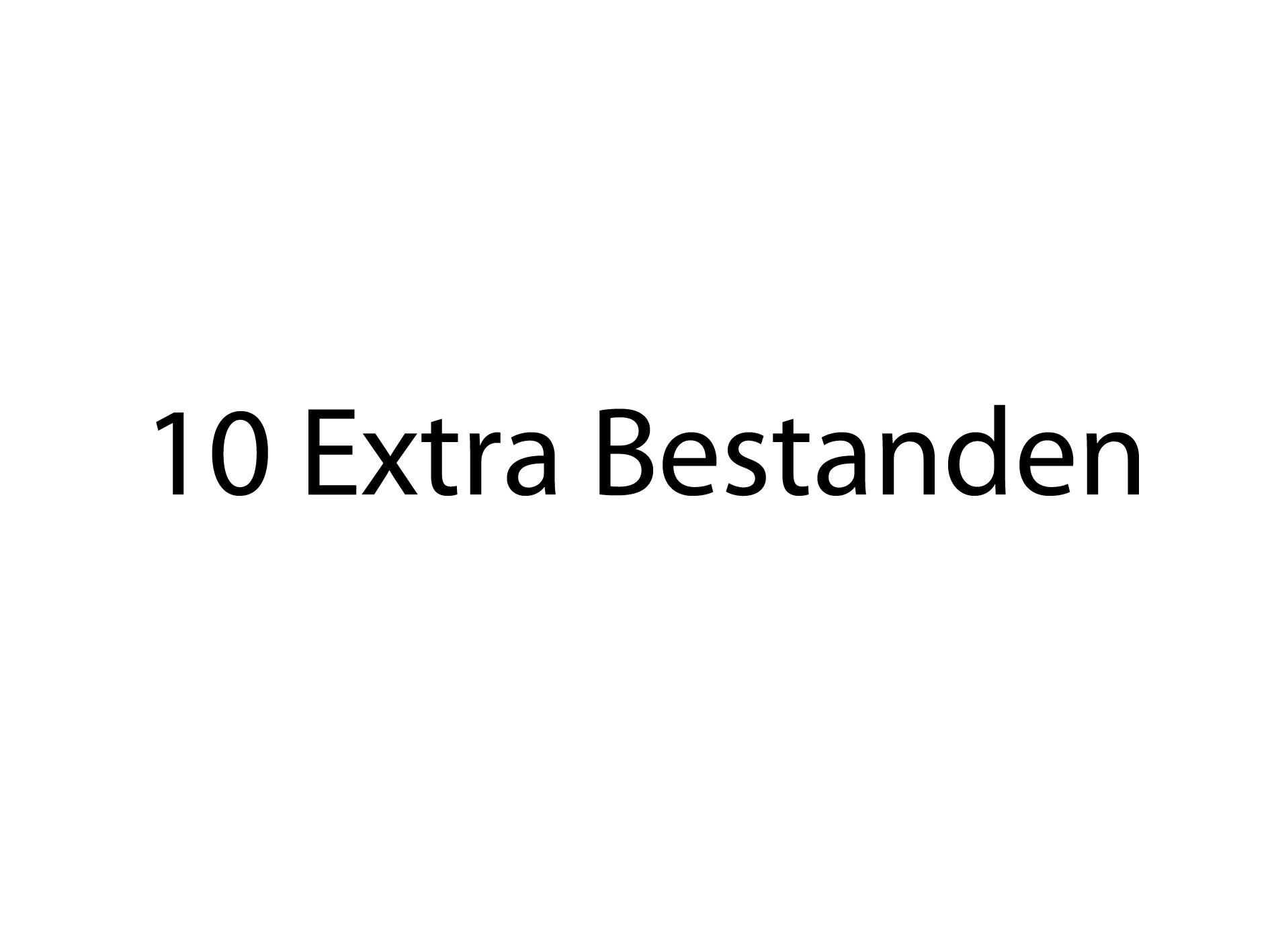 10 Extra Bestanden